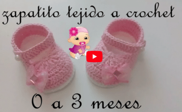 Zapatitos a crochet