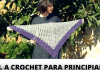 chal a crochet para mujer