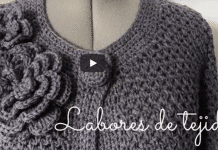 flores decorativas a crochet